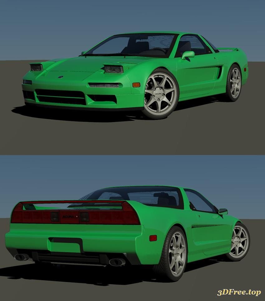 3D Models Acura NSX Download Free