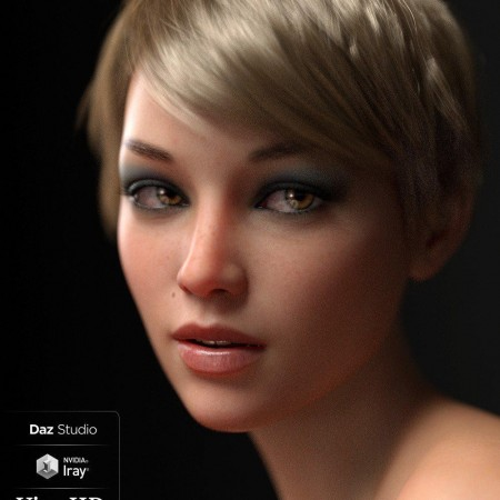 Vica HD For Genesis 8 Female