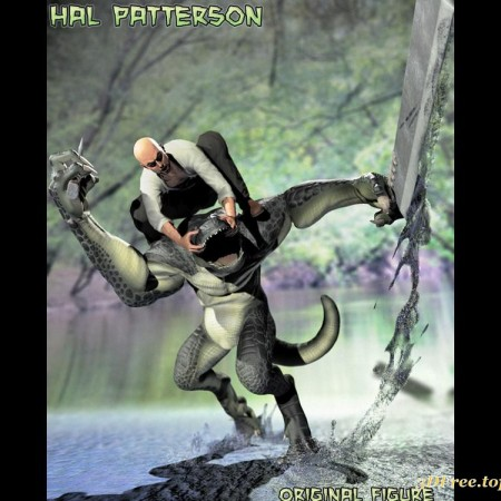 Hal Patterson Alligator Man
