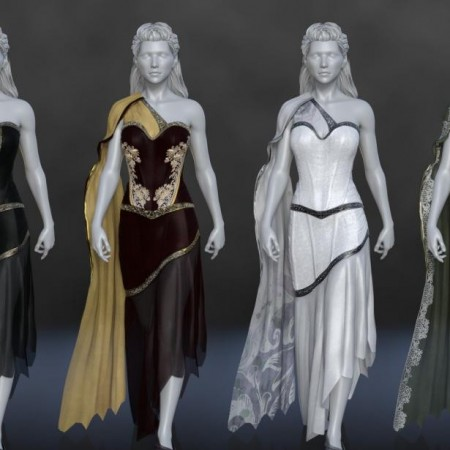 dForce Mosaic Outfit for Genesis 8 Female(s)