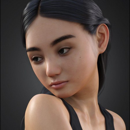 Liloo HD for Genesis 3 and 8 Female