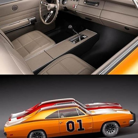 Dodge Charger 1969 RT