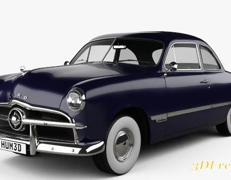 Ford Custom Club Coupe 1949