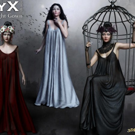 NyX dForce Midnight Gown