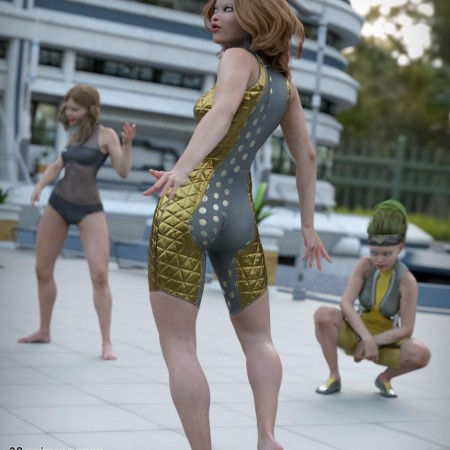 So Attitude poses for Genesis 8 Female