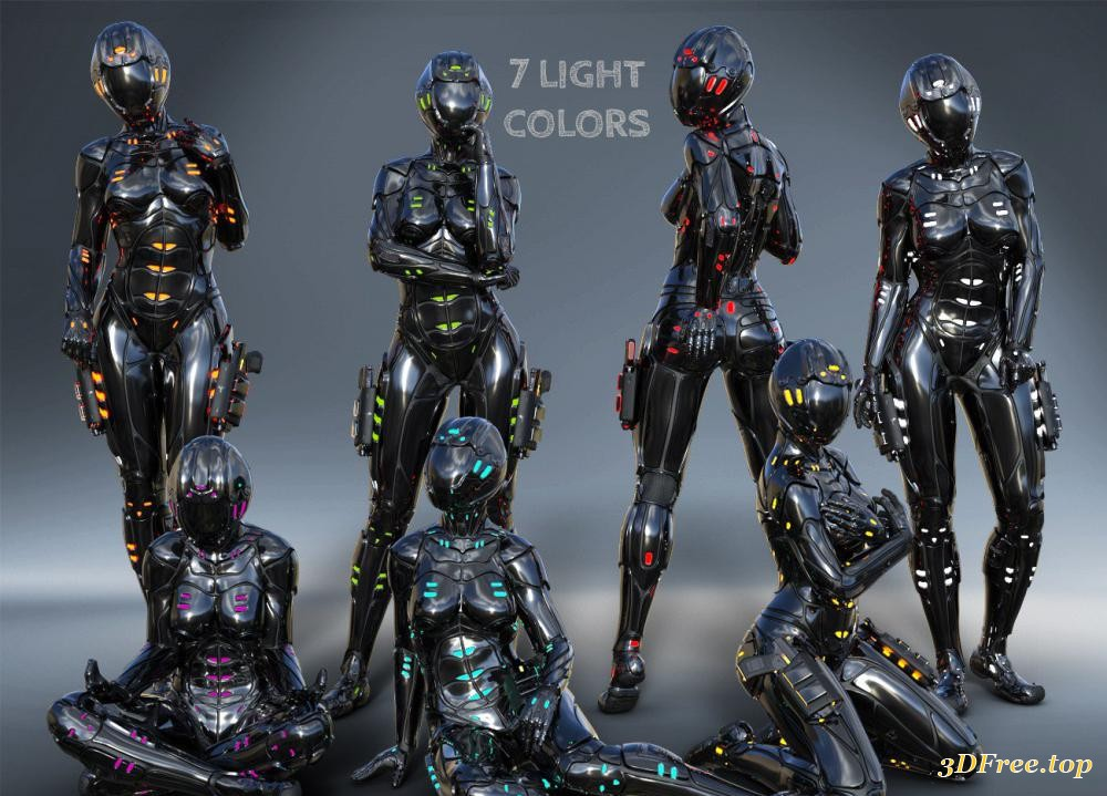 Hydron Suit for Genesis 8 Female(s)