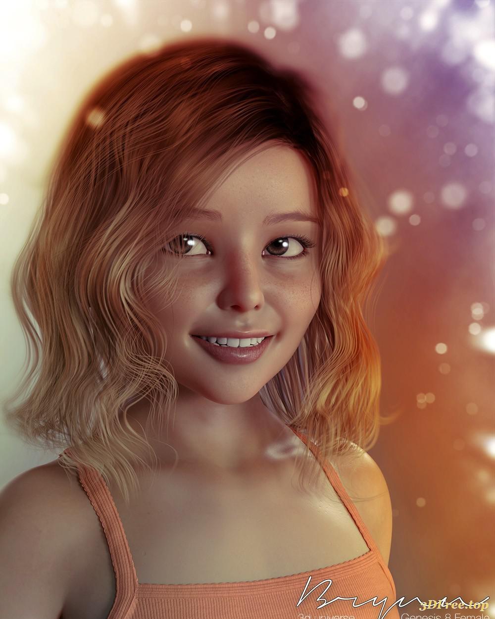 Portrait Katya Clover | CGTrader