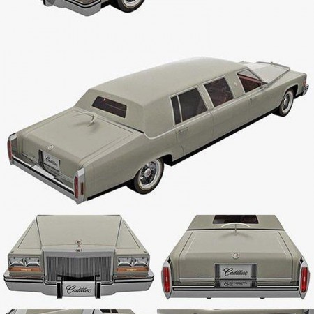 Cadillac Fleetwood Limousine 1986