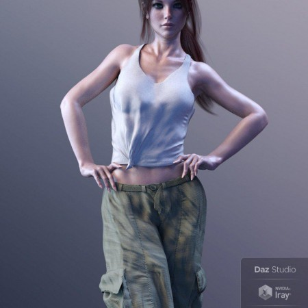 X-Fashion Boho Chic Outfit 03 for Genesis 8 Female(s)
