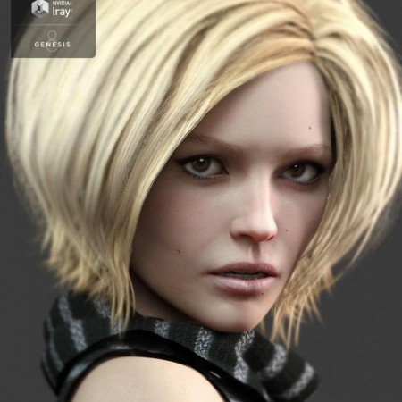 Mysti HD for Genesis 8 Female