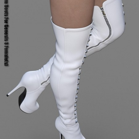 Platform Boots for Genesis 8 Female(s)