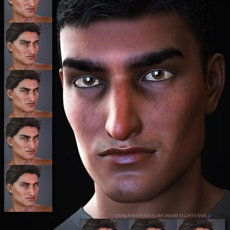 Salvatore for Genesis 3 and 8 Male