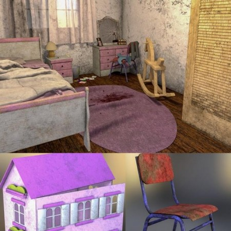 Creepy Children's Bedroom