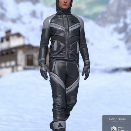 Winter Clothing for Genesis 8 Male(s)