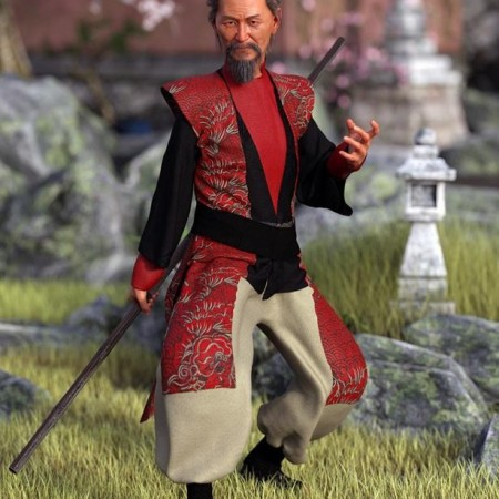 dForce Wise Master Outfit for Genesis 8 Male(s)