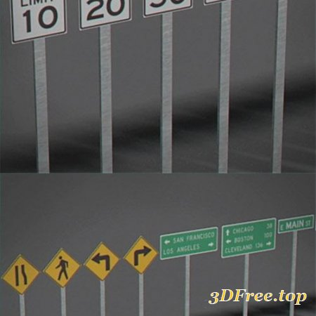 Pack - Traffic Signs
