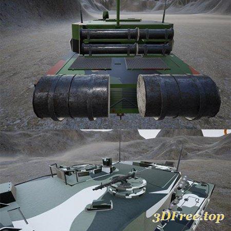 Main Battle Tanks Pack for UE4