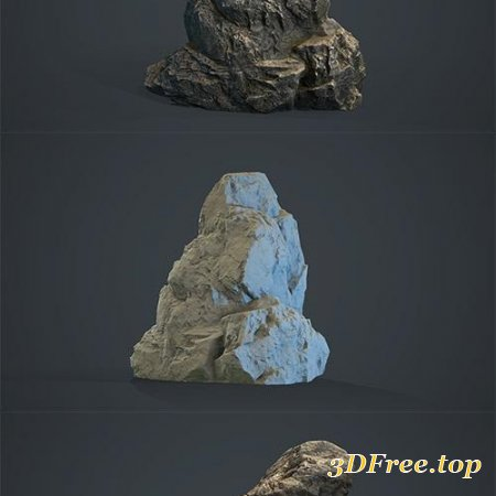Boulders Collection PBR