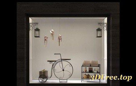 Shop Exposition 06 3D Model