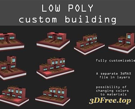 Low poly Bars pack