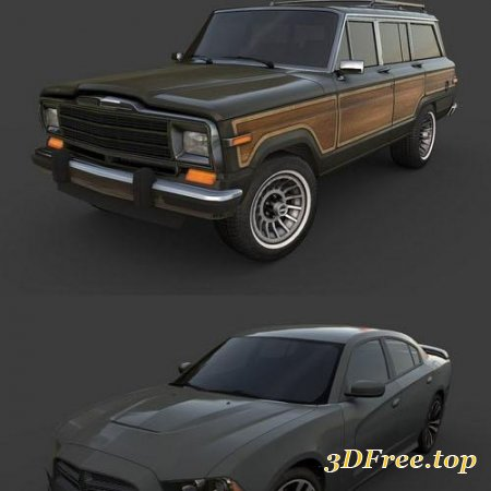 Cubebrush – American Cars Ultimate Collection