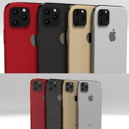 iPhone 11 Pro iPhone 11 Pro Max In All Colors Bundle Low-poly