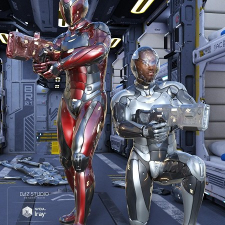 Leviathan Suit for Genesis 8 Male(s)