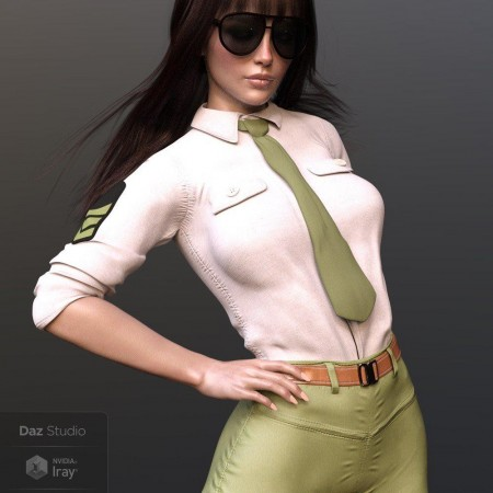 X-Fashion Uniform for Genesis 8 Female(s)