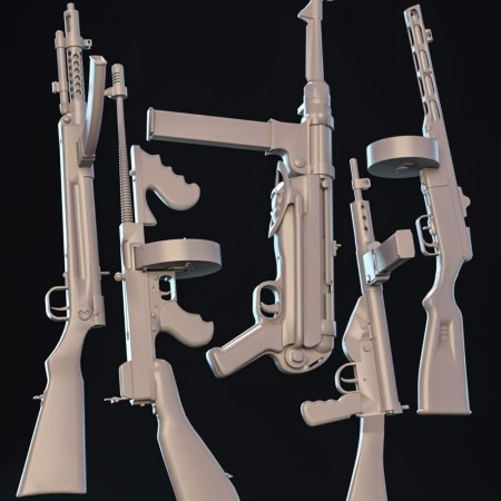 WW2 Submachine Guns
