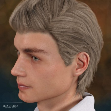 Axel Hair for Genesis 8 Male(s)