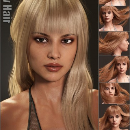 Liv Hair for Genesis 3 Female(s) and Genesis 8 Female(s)
