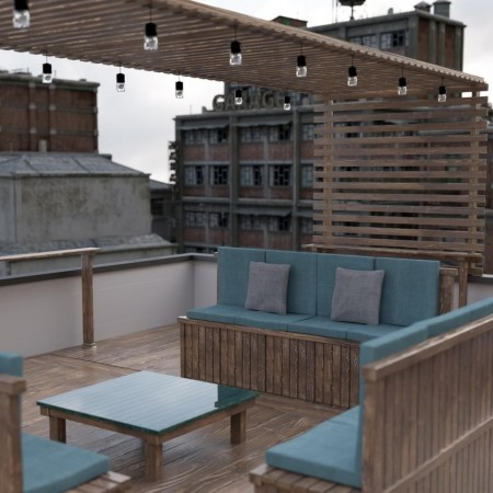 Rooftop Terrace Lounge