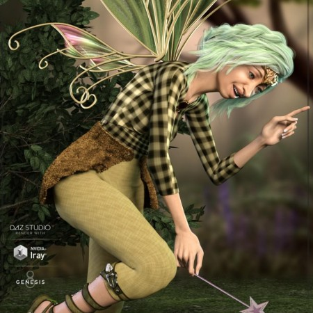 Z Forest Spirit - Poses and Expressions for Genesis 8 Female and Edie 8