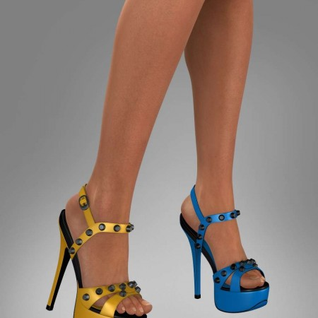 Sexy Platform Sandals 2 For Genesis 2 Female(s)