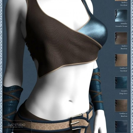 Leather Shader Presets 2 for Iray