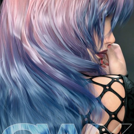 ColorWerks Extreme: Hair Texture Blending for Iray and dForce Hair