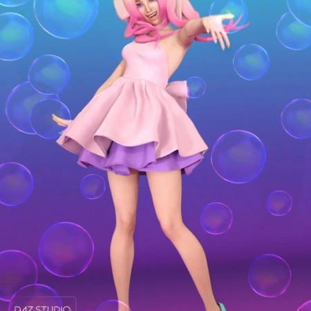Kawaii Poses and Expressions for Aiko 7 and Genesis 3 Female