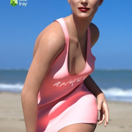 Racerback Sleep Tank for Genesis 8 Females