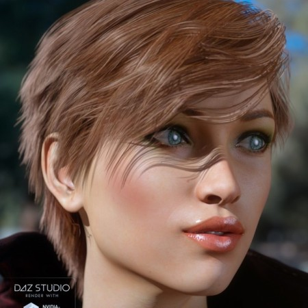 Force Hair for Genesis 3 Female(s)