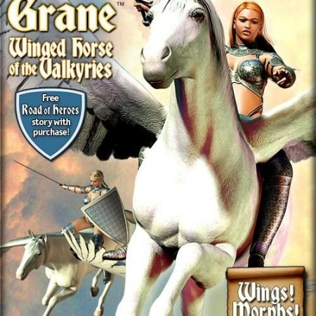 zz* - Grane the Winged Horse