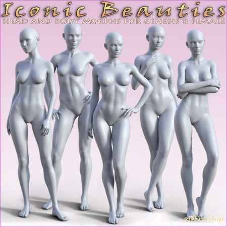 HFS Iconic Beauties for Genesis 8 Females