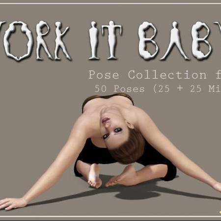 Work It Baby - Pose Collection