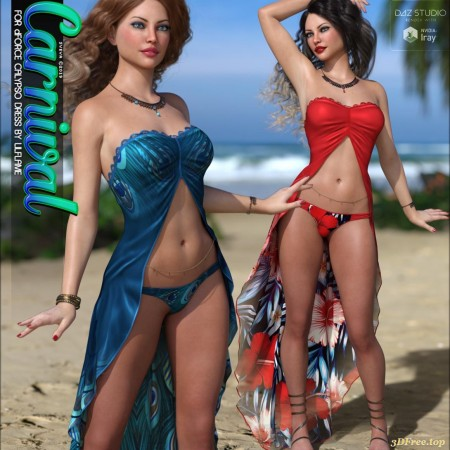 Carnival for dForce Calypso Dress G8F