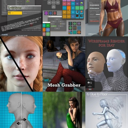 Useful Tools for Daz Studio