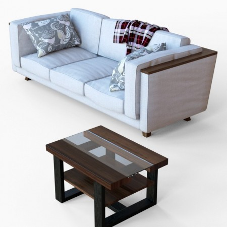 Couch and Coffee Table Props