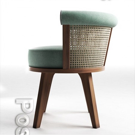 George Dining Chair 3D model
