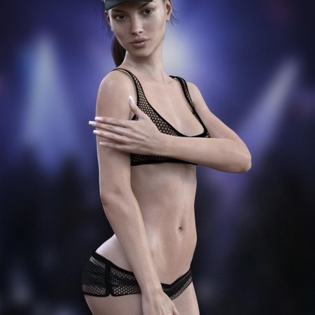 X-Fashion Security for Genesis 3 Females