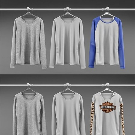 Long sleeve shirt collection