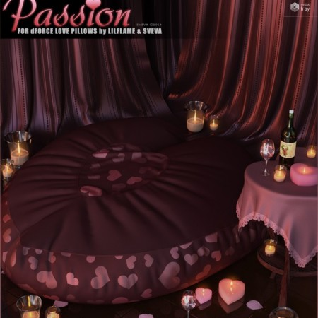 Passion for dForce Love Pillows