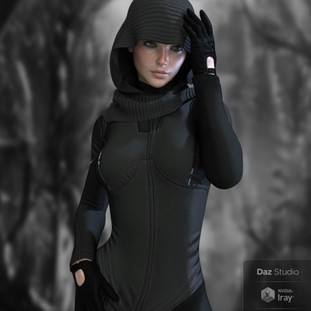 X-Fashion Tactical Outfit for Genesis 8 Female(s)